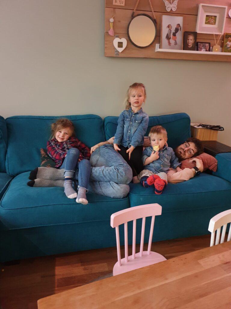 Ik met de kids