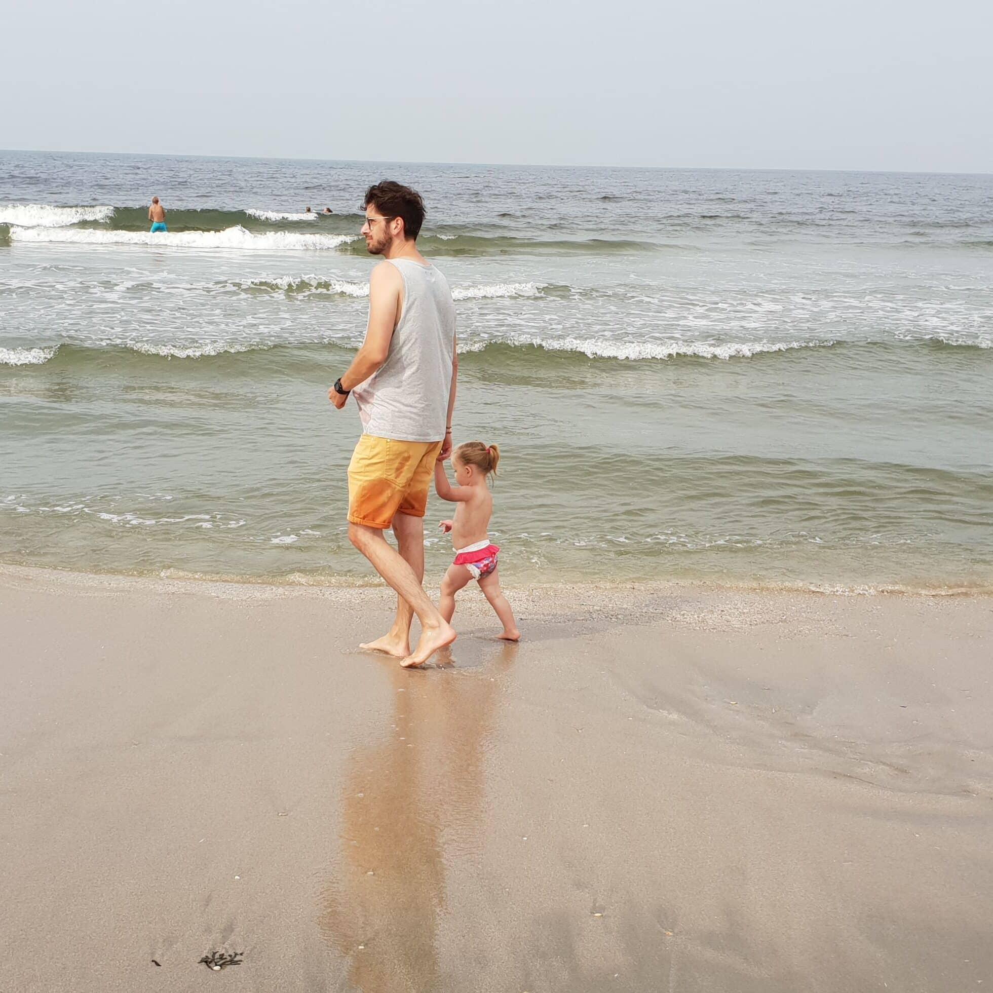 Op het strand - dadventures.nl