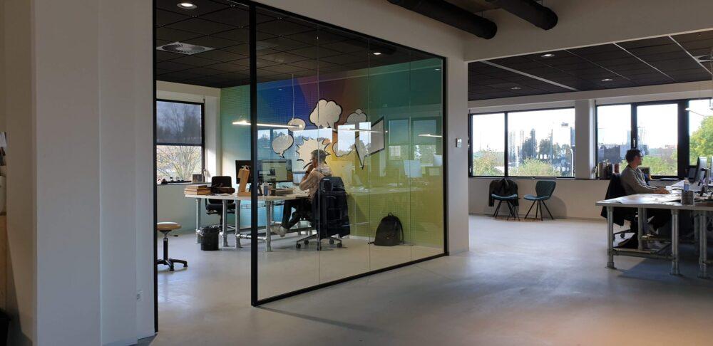 Op kantoor bij dadventures - dadventures.nl