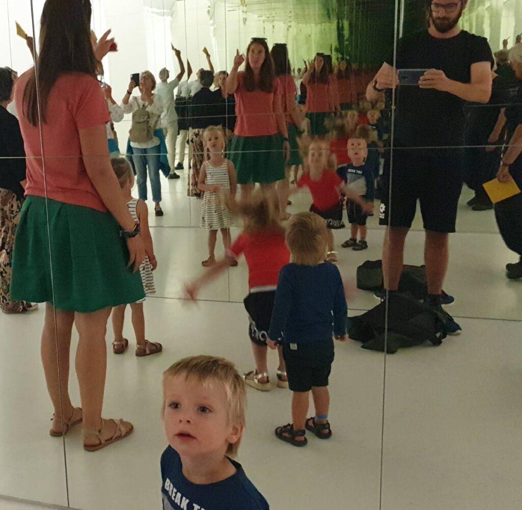 In het Kroller Moller museum